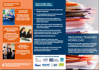Reducing Teacher Workload pamphlet